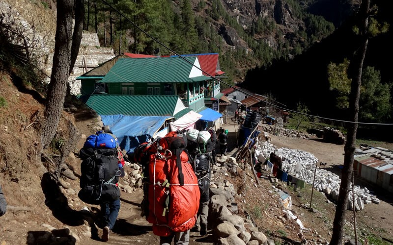 Everest Base Camp Weather in Aug