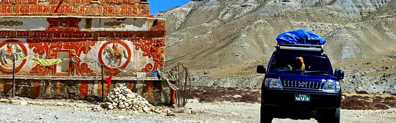 Upper Mustang deluxe jeep overland tour