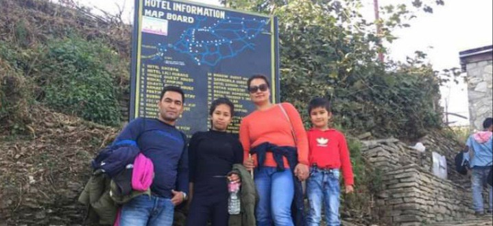 Our family tour to Poon Hill