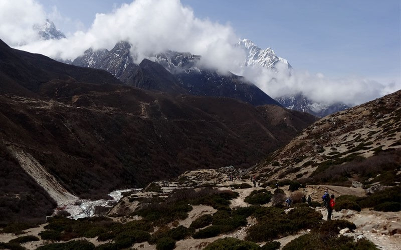 Everest base camp weather in July