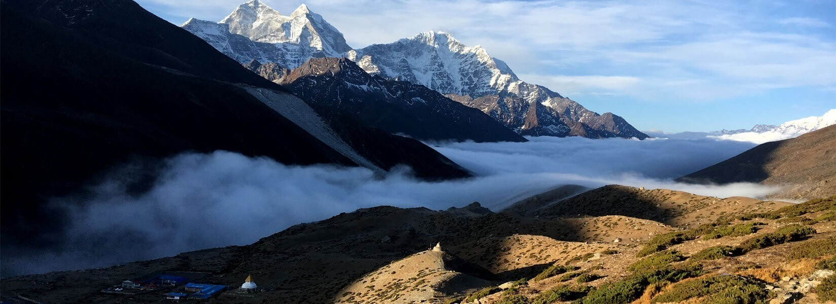 Everest Base Camp Weather for 12 Months