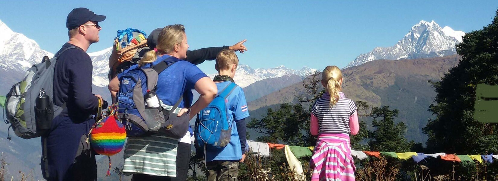Trekking in Nepal with Kids