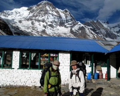 Annapurna base camp trek via Ghorepani Poonhill