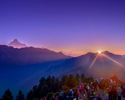 Annapurna Sunrise view Trek