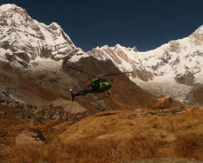 Annapurna Base Camp Tour by Helicopter