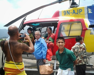 Muktinath Pilgrimage Tour by Helicopter