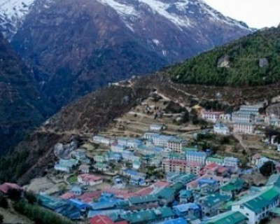 Luxury hike to Namche Bazaar