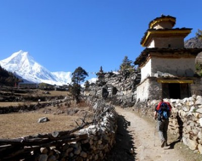 Manaslu Circuit Trek - A classic trek around Mt Manaslu the world's eighth highest mountain